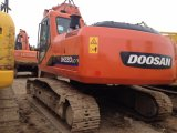 Используется Doosan Dh220LC-7 Гидравлический гусеничный экскаватор