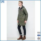 Rivestimento lungo 2017 di alta qualità di inverno di modo di Ny per i vestiti degli uomini