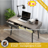 Moderno diseño en forma de L escritorio ejecutivo con el pie de acero (HX-8ND9044)