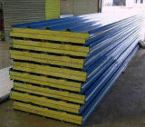Gute Qualitätshohes Sicherheits-Mineralwolle-Zwischenlage-Panel-vorfabriziertes Haus