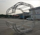 Braguero de aluminio del círculo, braguero de aluminio redondo