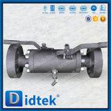 Sigillamento morbido del fornitore di Didtek Cina che fa galleggiare la doppia valvola a sfera