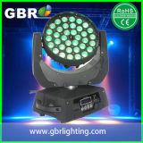 Was 360 van Gbr Licht van Robin 600 4in1 leiden 36PCS van RGBW van de Robe van het Gezoem het Bewegende Hoofd12W