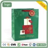 Don Patten regalo verde bolsa de papel, Asa bolsa, bolsa de compras