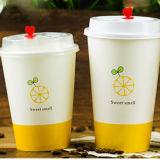 La Chine isolée les tasses de papier tasses à café avec couvercles