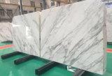 Mattonelle di pietra di Statuarietto di Statuario del marmo domestico prefabbricato di marmo bianco della decorazione