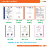 Batterie de gel d'Opzv, batterie tubulaire Opzv2-2000 de VRLA 2V