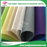 Precio de fábrica no tejido impermeable de la tela del polipropileno