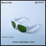 980nm&1064nm&1320nm óculos de segurança de laser para Laser de diodo & ND: YAG Laser & Laser de fibra de Laserpair