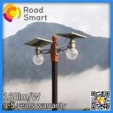 4W-12W 1개의 태양 강화된 거리 정원 램프에서 보장 3 년 전부