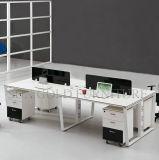 4 personne sièges Station de travail moderne et blanc (SZ-WS178)