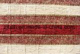 Stof van de Bank Chenille van het Ontwerp van de streep de Zwarte en Rode (FTH31003B)