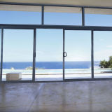 Aluminum Glass Sliding Doors with grill, aluminum Sliders with grill