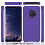 Het vloeibare Geval van de Telefoon van het Silicone voor de Melkweg van Samsung S9 S9 plus