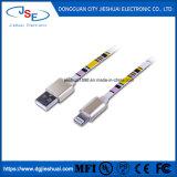 Tela plana de IFM 8 pinos USB Carregador 2.1A relâmpagos Cabo para iPhone 5, 6/6s Plus