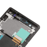 Negro de cristal del tacto de la pantalla Display+Digitizer del LCD para Sony Xperia Z C6603 C6606 L36 L36h L36I