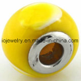 Núcleo de aço inoxidável 316 esferas de vidro Murano