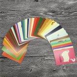 Tarjetas de juego educativas de tarjetas de los niños