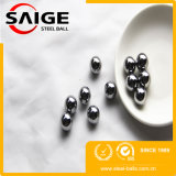 Bola de acero inoxidable usada hecha China de la base del bloqueo AISI316 (G100)