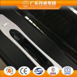 Portello termico europeo personalizzato della stoffa per tendine della rottura dell'alluminio/alluminio/Aluminio della lega di stile