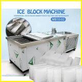 Anúncio publicitário máquina de gelo do bloco de um dia de 1 tonelada