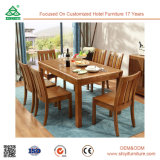 Célèbre jeu de la conception de salle à manger moderne, mélanger la couleur des meubles élégants Tables salle à manger