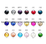 Halsband van uitstekende kwaliteit van de Bergkristallen van de Juwelen van het Kristal de Satelliet van Buitensporige Steen voor de Toebehoren van de Diamant van het Kristal