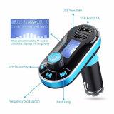 Cargador de coche Bluetooth Bt66 Suppor MP3 Kit de tarjetas SD/transmisor de FM/Cargador de coche con doble USB