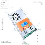 48V/36V/24V/12V MPPT 60A LCD 까만 Light+Li 건전지 태양 관제사 MPPT-60A