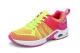Loopschoenen van de Schoenen van de Vrouwen van Flyknit van de Schoenen van de Sport van de Schoenen van de Vrouwen van de manier de Roze Nieuwe Lichte Hogere