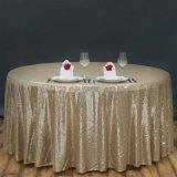 Paños de vector del cequi del mantel del cequi de la manera para la decoración casera del vector del banquete de boda