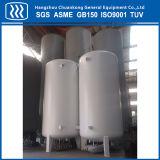 El CO2 líquido Industrial oxígeno tanque de almacenamiento de gas nitrógeno.