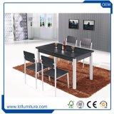 Vector de madera determinado y sillas del MDF del vector al aire libre del departamento del café fijados