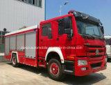 Sinotruk HOWO 4X2の消防車のトラックトラック10トンの消火活動の