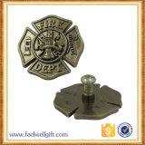 Diseño de encargo de aleación de zinc Hierro Metal Imprimir Placa epoxi