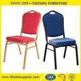 결혼식 쌓을수 있는 대량 의자 금속 연회 의자는 의자 덮개 호텔 가구를 사용할 수 있다