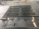 Disegno sezionale del portello del garage del ferro saldato dei commerci all'ingrosso