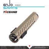10-дюймовый Picatinny магистрали Handguard Keymod углеродного волокна композитного (ХФУ)
