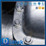 Válvula de porta elétrica da movimentação da solda de extremidade do aço inoxidável 304 de Didtek CF8m
