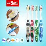 Toothbrush de borracha macio dos miúdos baratos da alta qualidade com a cópia feita sob encomenda da imagem