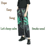 Hip-Hop de malezas Street Dance Casual pantalones de pierna amplia