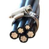 Накладные расходы в комплекте алюминиевый Quadruplex службы кабеля