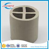 80mm Anneau Cross-Partition en céramique pour la tour d'adsorption de l'emballage