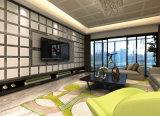 Material de decoración de la Junta de ABS 3D el panel de pared