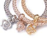 Juwelen van de Armband van de Armband van de Kroon van de Diamant van Zircon van de manier Multilayer