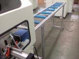 Profil en aluminium clé d'angle de coupe d'alimentation automatique Machine de découpe en aluminium