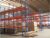 Estante ajustable de la paleta del almacén de almacenaje del estante de acero