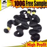 волосы двигателя качества 8A бразильские черные