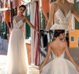 Parte da Prom personalizado Robes Cordão Lace noite vestidos Z9049