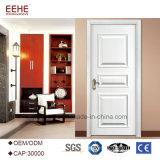 Disegni di legno semplici del portello di colore bianco europeo di stile